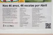 """Inauguração do mural """"O 25 de Abril nas Escolas"""""""