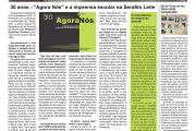 """A página da Serafim Leite no jornal """"O Regional"""""""