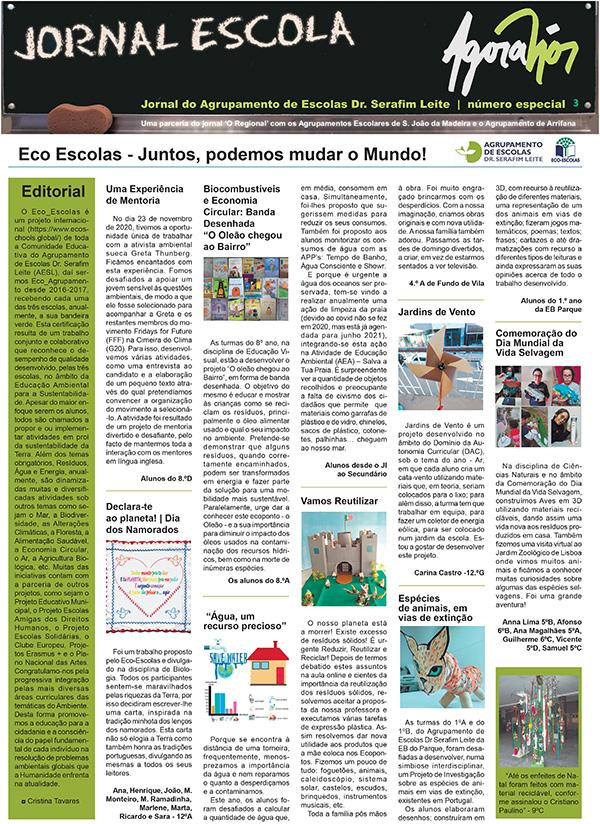 """Agora Nós 3 - Suplemento do jornal """"O Regional"""""""