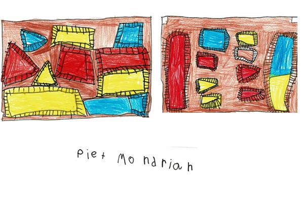 JI Parque - Inspirados em Piet Mondrian…